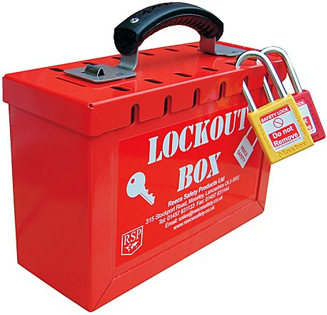 Combined Lock Storage / Group Lockout Box