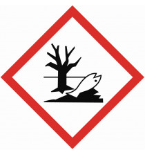GHS ENVIRONMENTAL TOXICITY sign 40 x 40mm