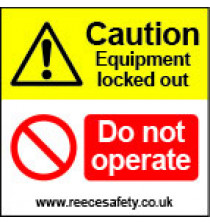 Lockout Labels 50mm x 50mm (pack of 10)