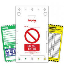 Entrytag� kit (Pack of 10 tags plus holder)