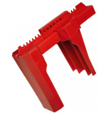 Ball Valve Lockout fits valve size 50mm to 200mm RED