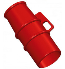 Lockout for use on 400v 32A pin and sleeve Sockets RED