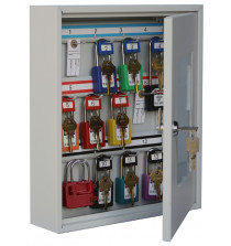 Padlock view cabinet to hold 12 padlocks - Keyed lock