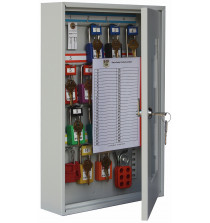 Padlock view cabinet to hold 16 padlocks - Keyed lock