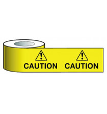 Barrier Warning Tape    75mmx100m Caution