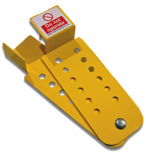 Captive Lockout Hasp