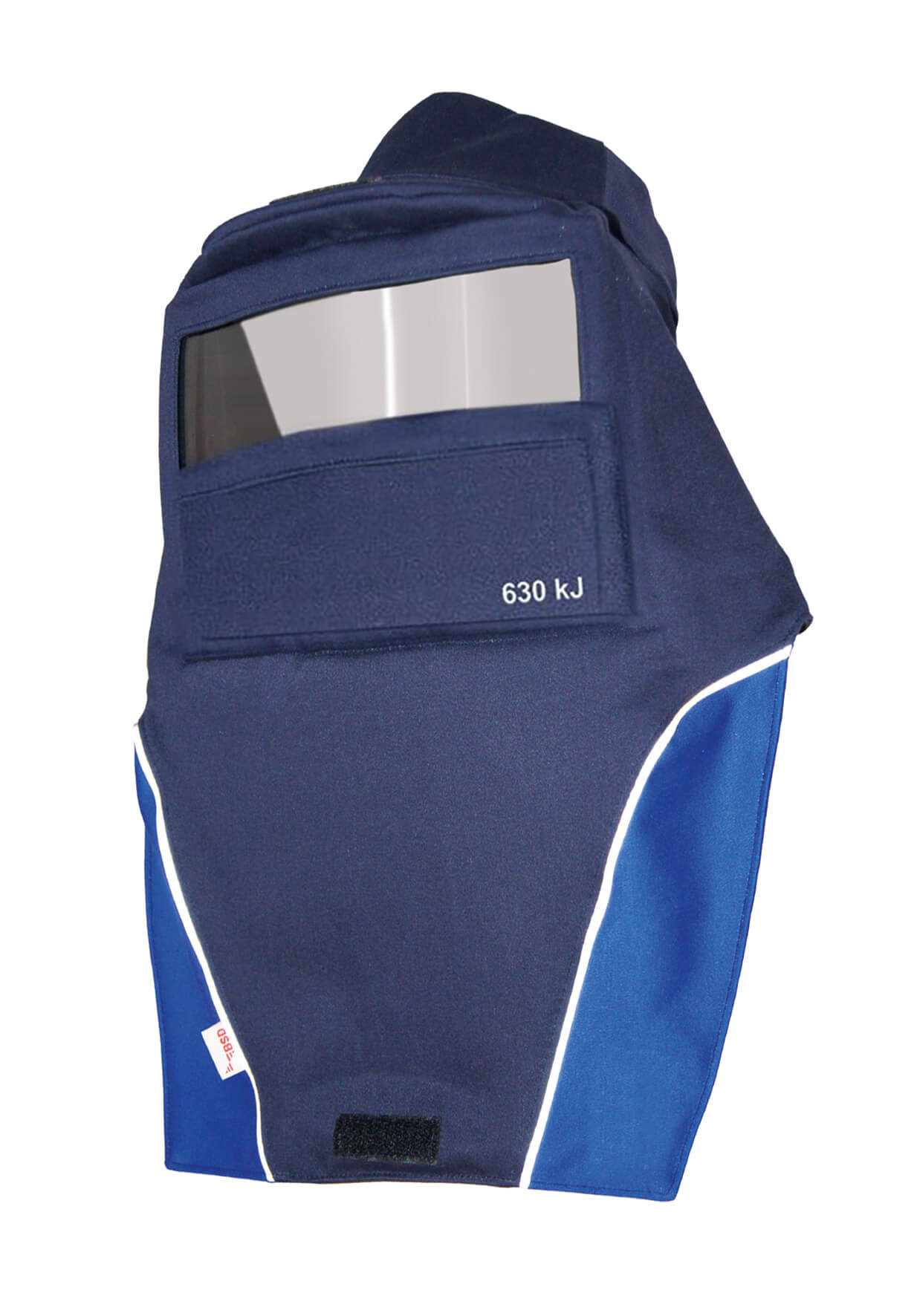 Arc flash hood plus, HRC 3, 25.0 cal/cm²