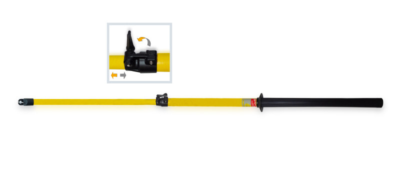 Telescopic Pole - Polyvalent - up to 45kV
