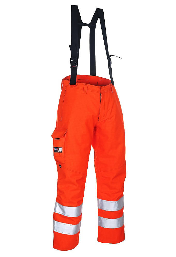 High Viz Arc Flash Waterproof  Salopettes 47.0cal/cm2