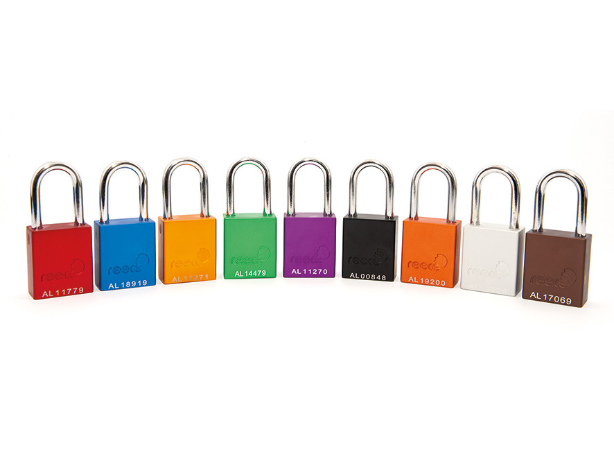 Aluminium Safety Padlock with 38mm Shackle_GROUP