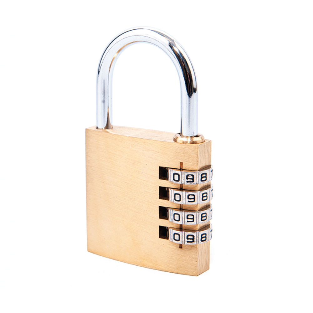 BCT1040 Brass Combination Padlock 40mm