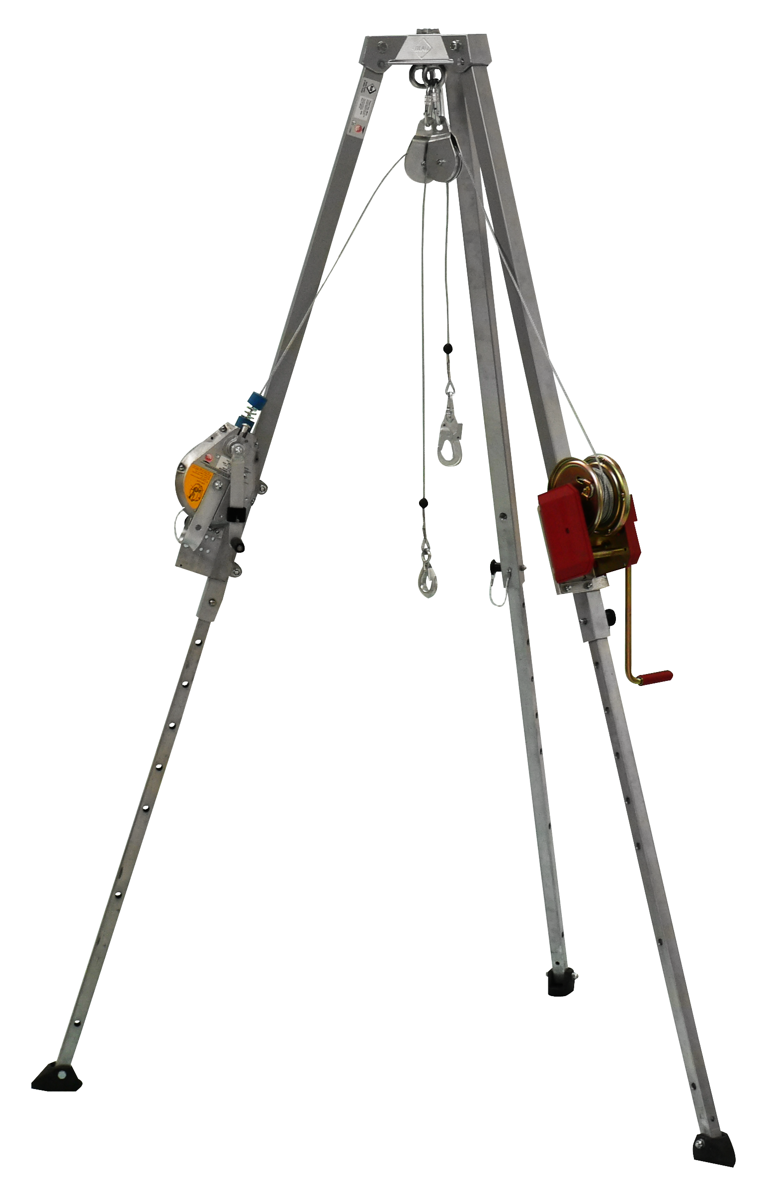 DB-A2 IKAR Tripod, PLWT Load Winch with HRA24 Rescue Device
