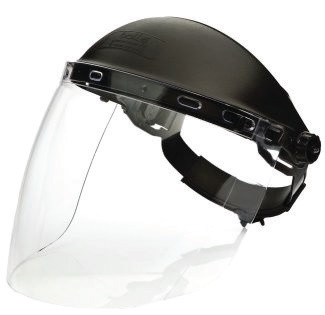 Electrician's faceshield