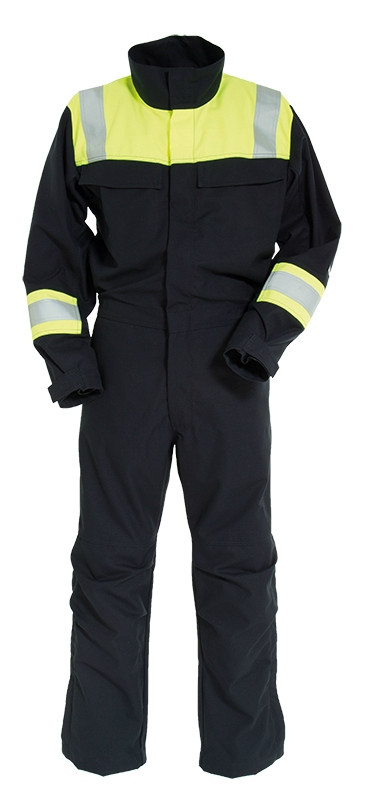 Arc Flash Non-Metal Two Tone Coverall 9.5cal/cm2