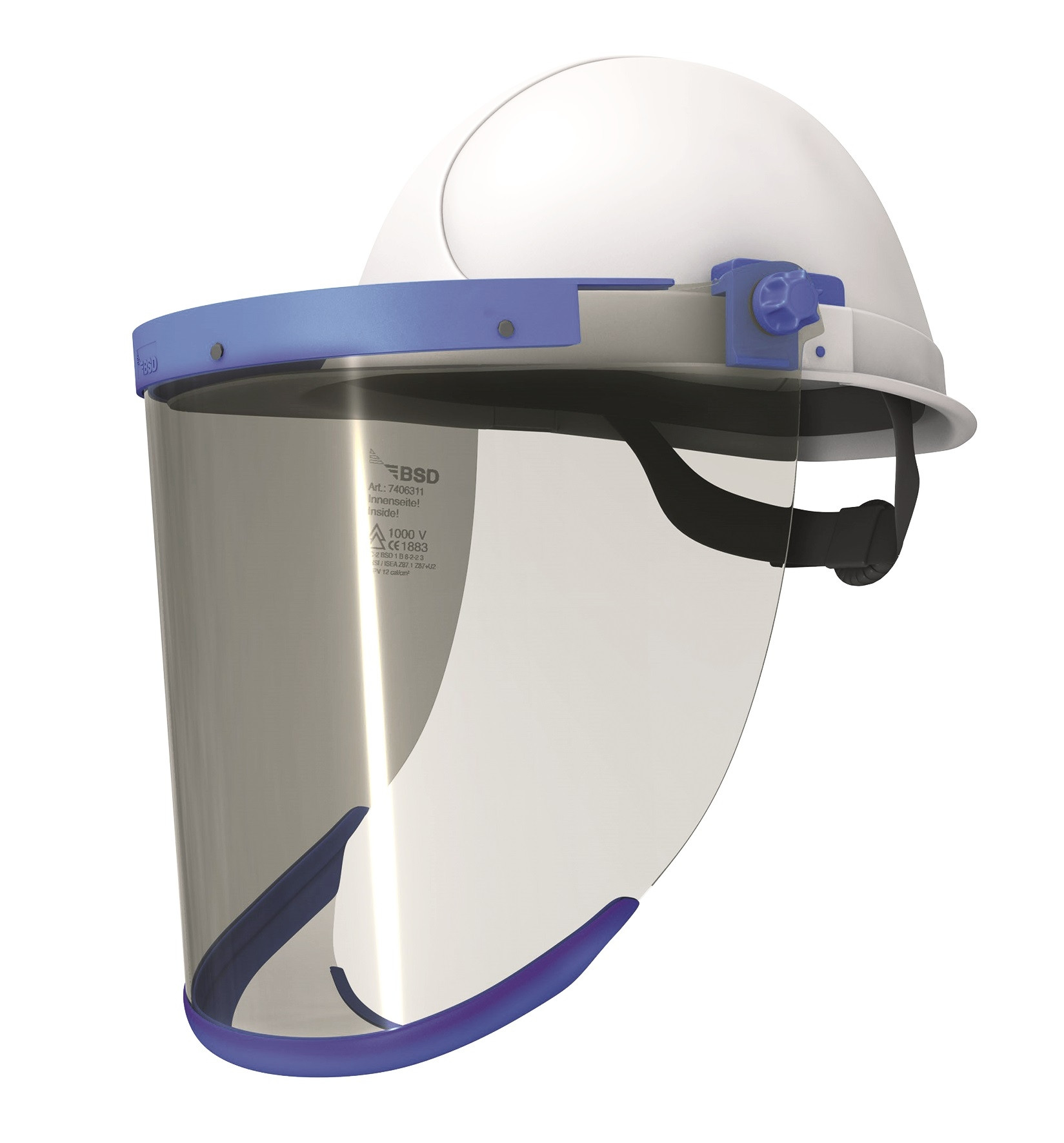12 cal rated visor and helmet