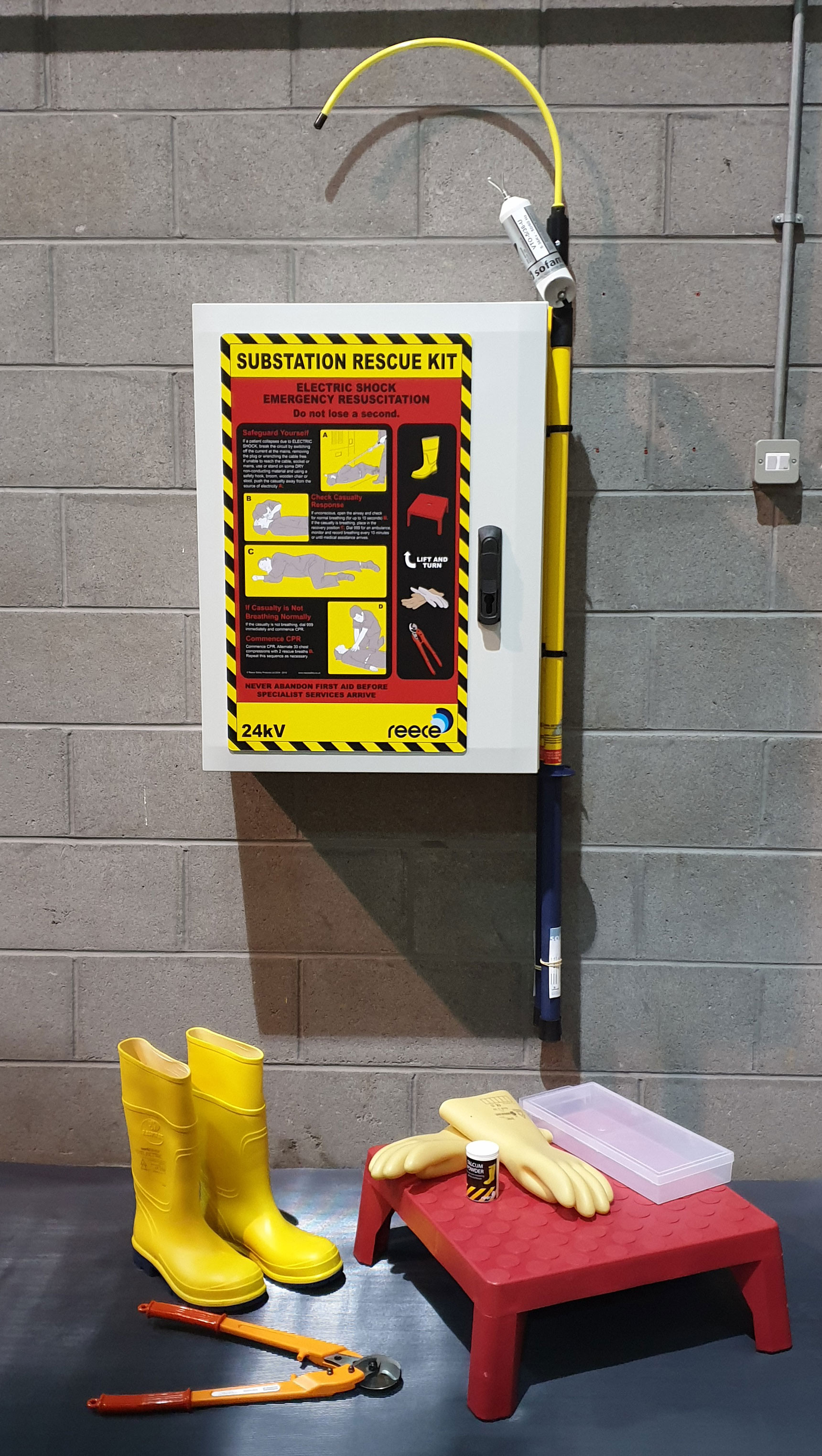 24kV Electrical Substation Rescue kit