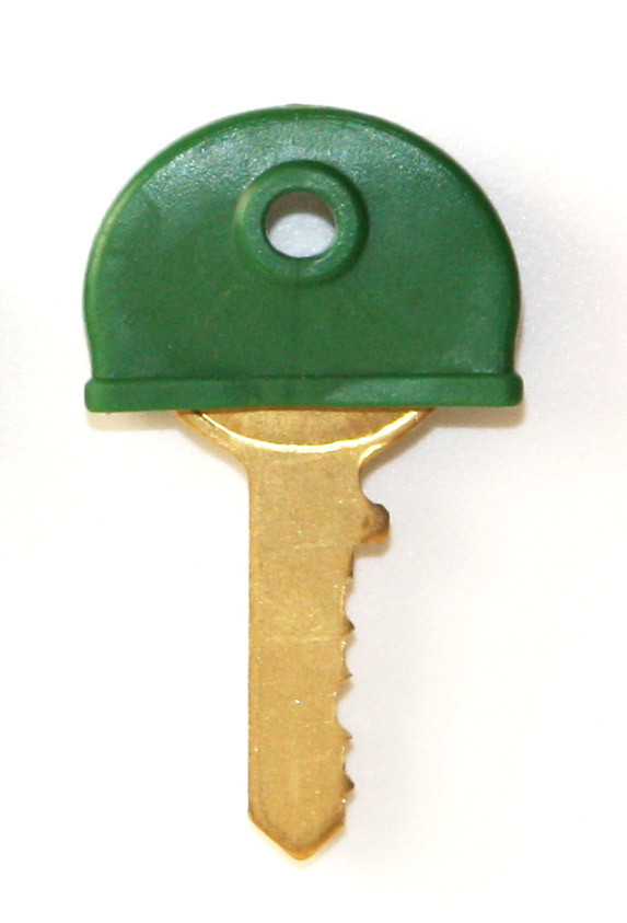 Plastic key cover Green
