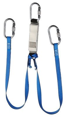 Twin Legged Webbing Energy Absorbing Lanyard