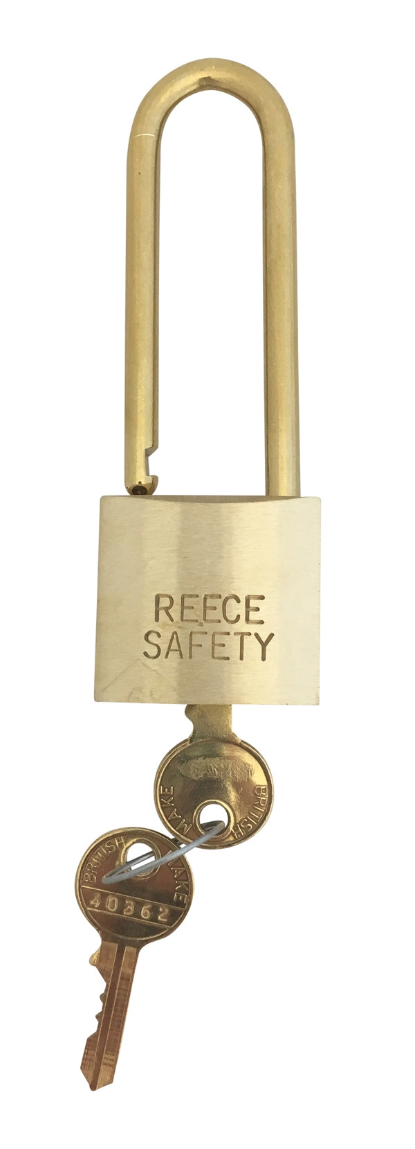 Brass 38mm body Safety Padlock -Master/Differ-Long