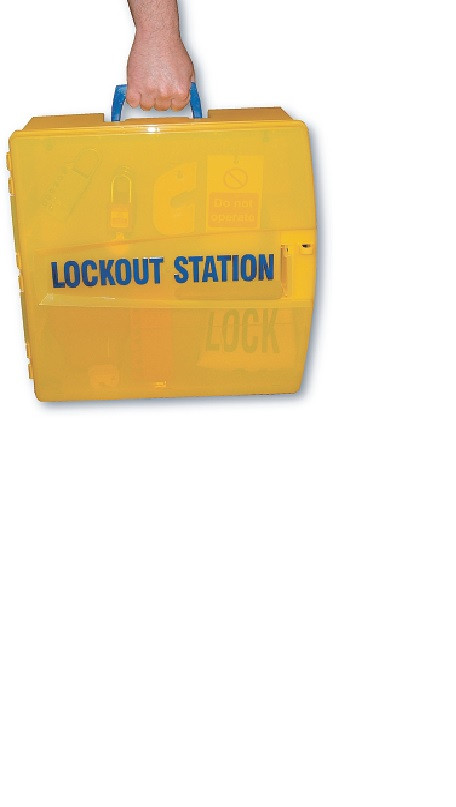 Portable Lockout Equipment Box and contents