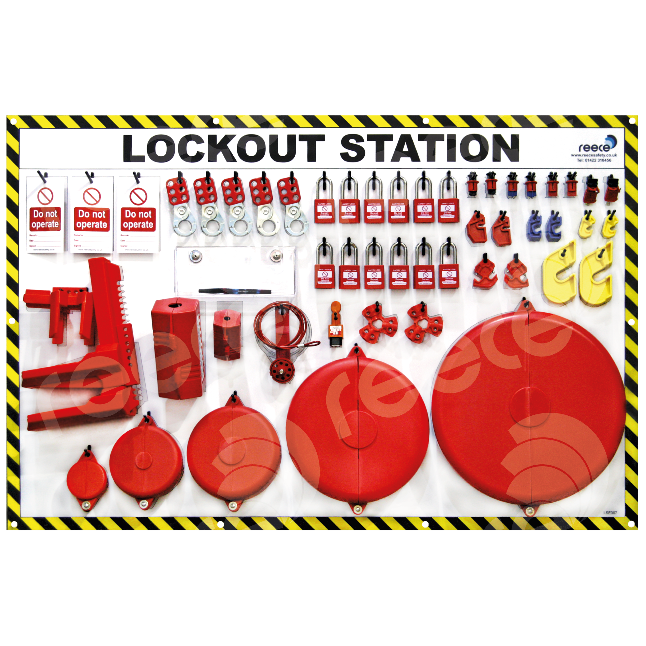 Station and contents - 12 x NC38RED