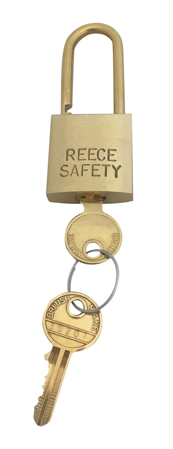 Brass 32mm body Safety Padlock-Keyed Alike-Medium