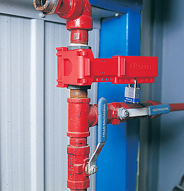 Ball valve fits ball valve size 9.5mm to 31.5mm RED