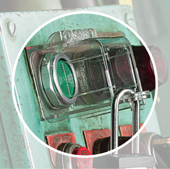 Rotary Switch Hinged Cover