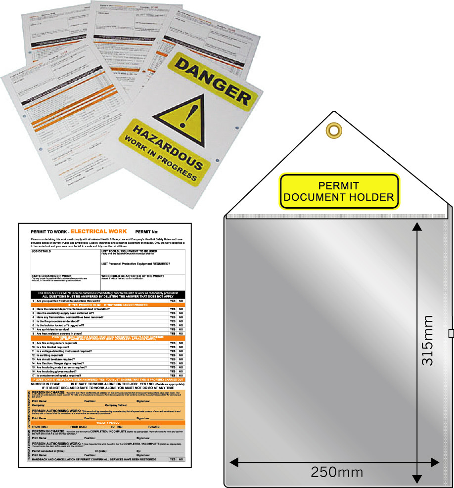 Permit to Work Forms. Pk 10. A4. Overhead Cranes
