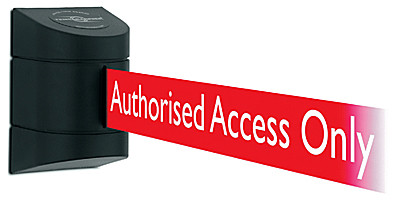Tensabarrier Authorised Access Only Belt Barrier