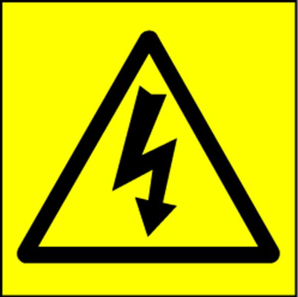 Electrical Safety Labels - Hazard
