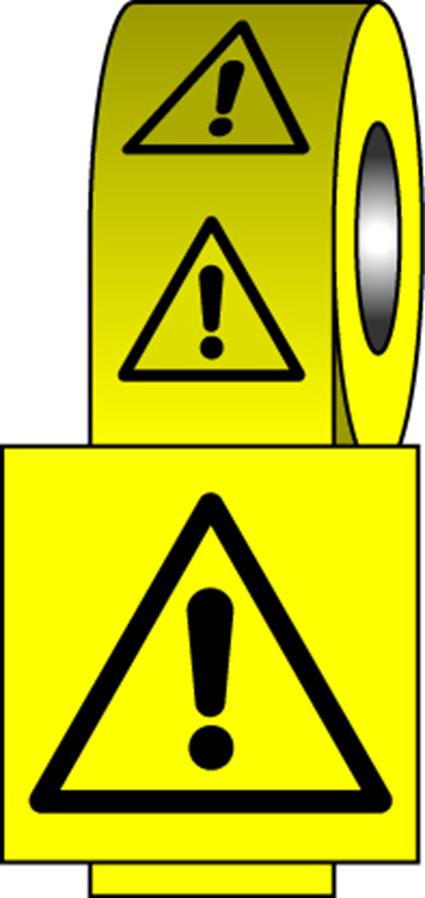 Safety Labels - Caution