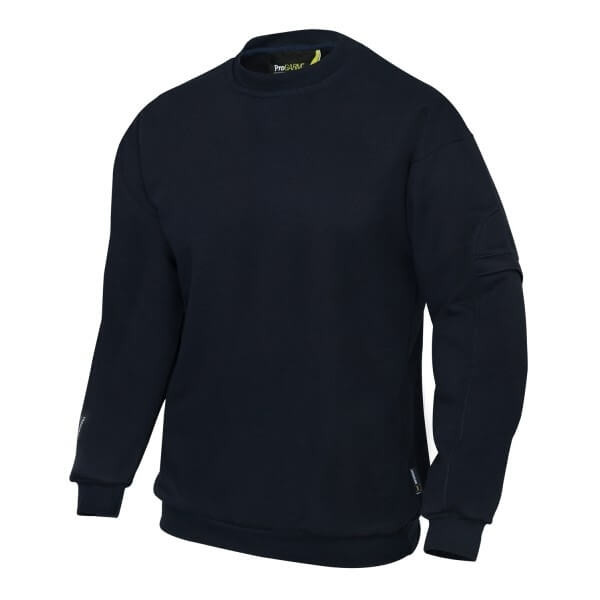 Arc Flash Navy Sweatshirt 14.4 cal/cm2