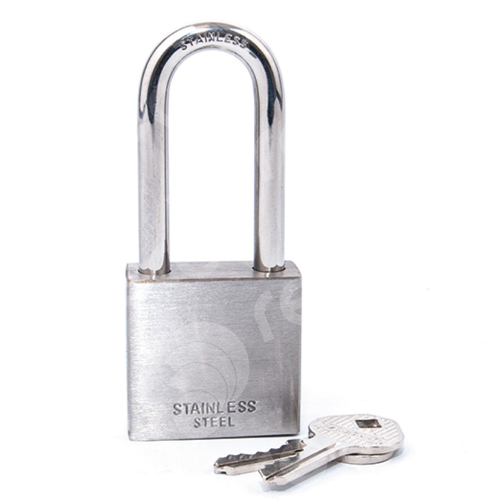 R2340 Stainless Steel Padlock with 51mm shackle clearance