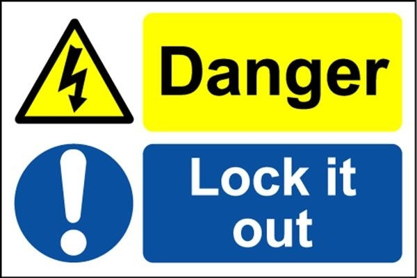 Danger Lock it Out - Safety Sign