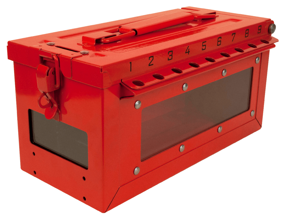 Combined Lock Storage/Group Lockout Box S601