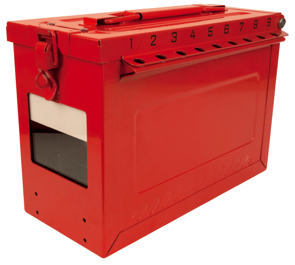 Combined Lock Storage/Group Lockout Box S602
