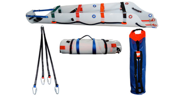 Compact lightweight stretcher kit