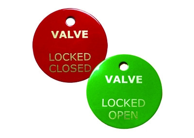 Stainless Steel Valve Tag