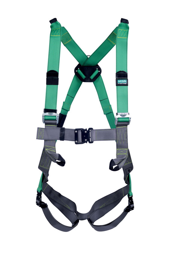 V-form single point rescue harness