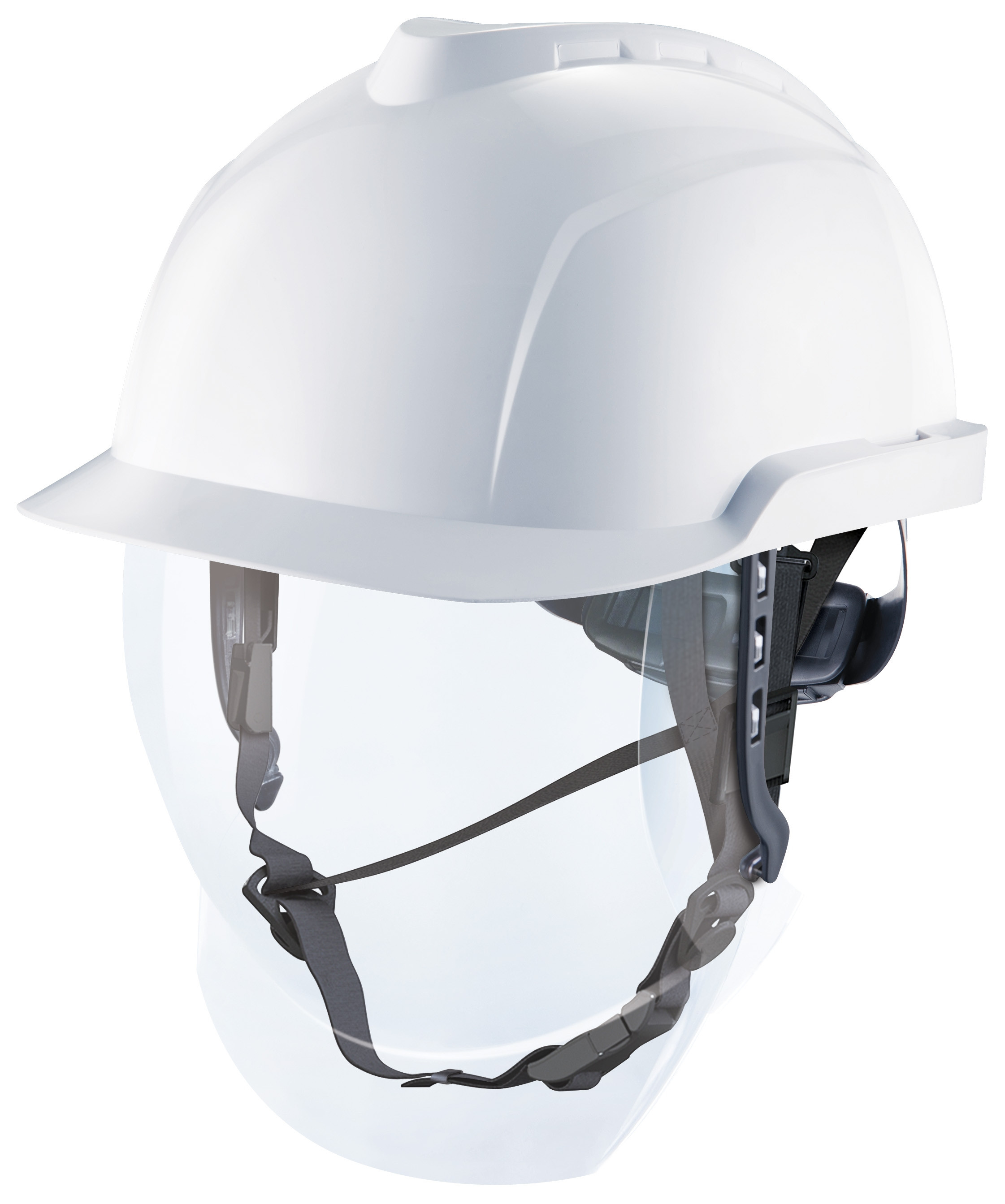 MSA V-GARD 950 with integrated class 1 visor