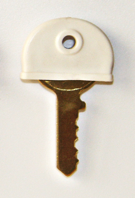 Plastic key cover White