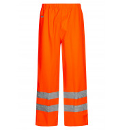 High Viz Arc Flash Orange Waterproof Trousers 21.1cal/cm2