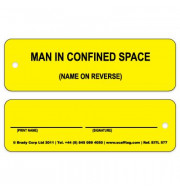 Entrytag Man in Confined Space Inserts (Single insert)