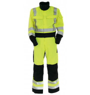 Arc Flash Non-Metal Two Tone High-Vis Coverall 9.5cal/cm2