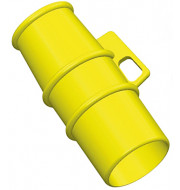 Lockout for 110v 16A pin and sleeve Sockets YELLOW