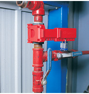 B-Safe ball valve fits ball valve size 9.5mm to 31.5mm RED