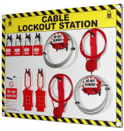 Cable Lockout Station