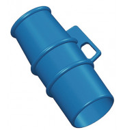 Lockout for use on 230v 16A pin and sleeve Sockets BLUE