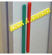 190mm Red Blocking Bar (5 Pack) For Electrical Panels